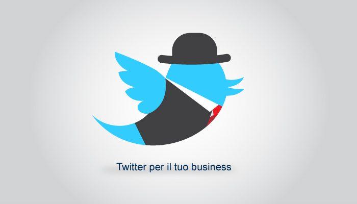 twitter per il business
