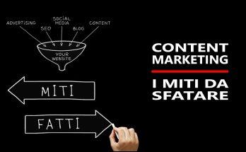 Content Marketing i miti da sfatare