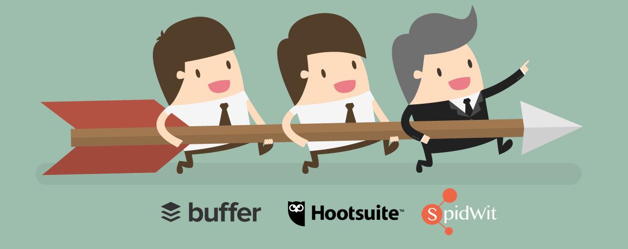 potenzia buffer hootsuite con Spidwit