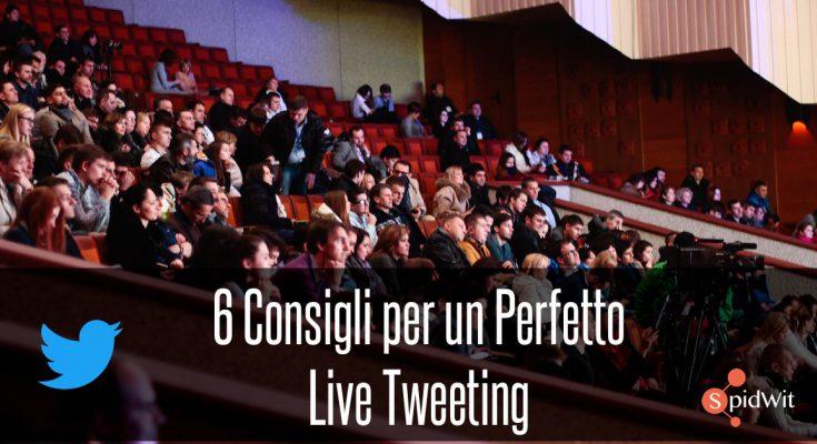 live-tweeting
