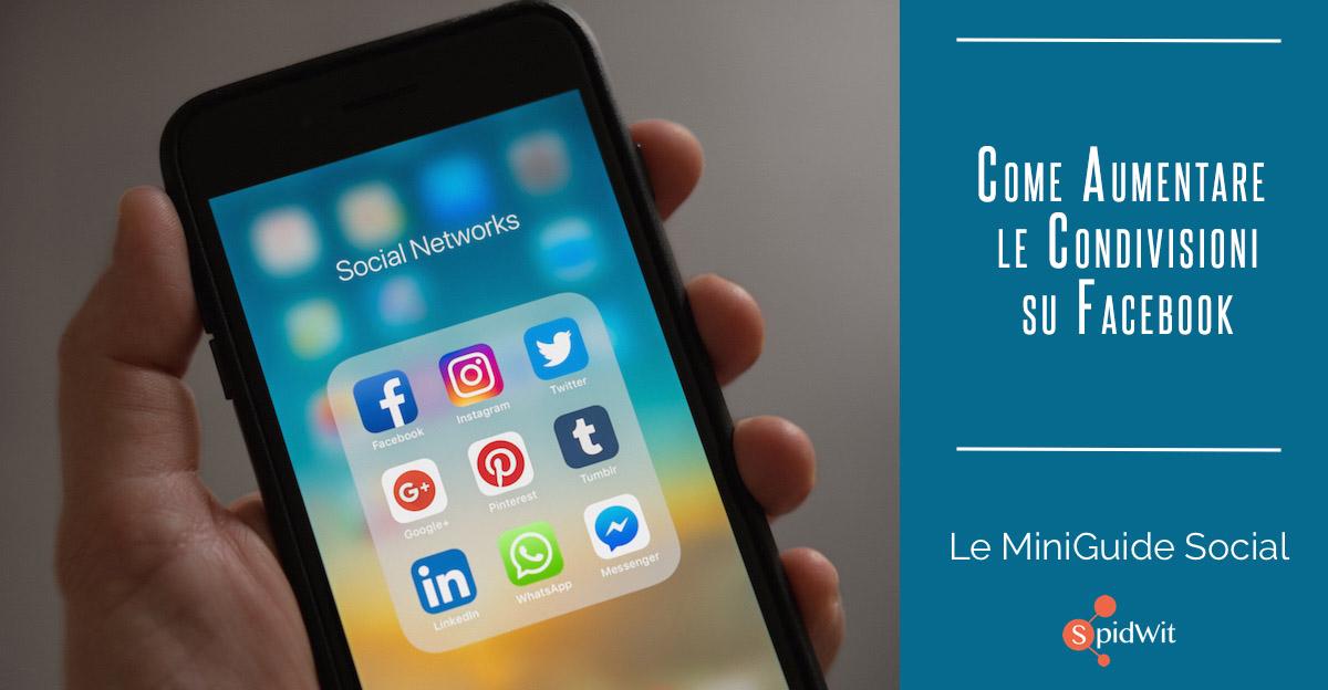 Titolo: come aumentare le condivisioni su Facebook