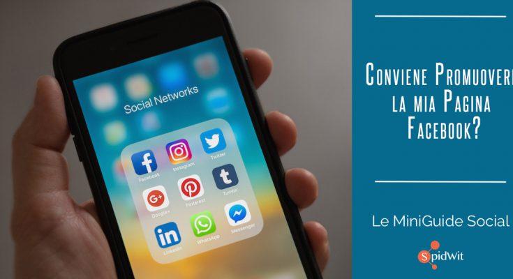 Titolo: conviene promuovere la mia pagina Facebook?