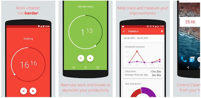 app per aumentare la produttività