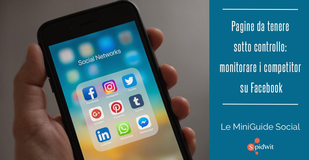 Monitorare i competitor su Facebook