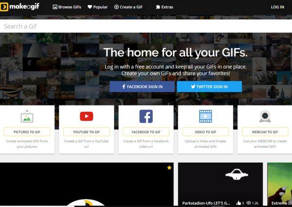 Make a gif: secondo tool per creare GIF
