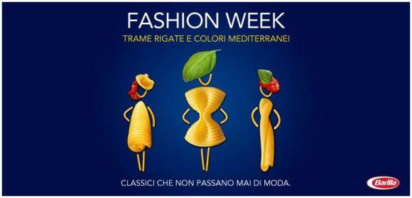 Fashion week - Barilla