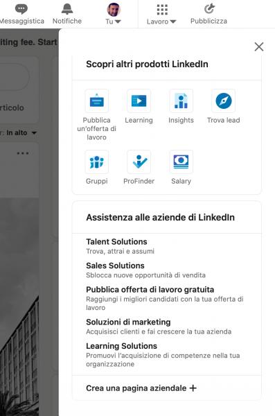 creare-pagina-linkedin