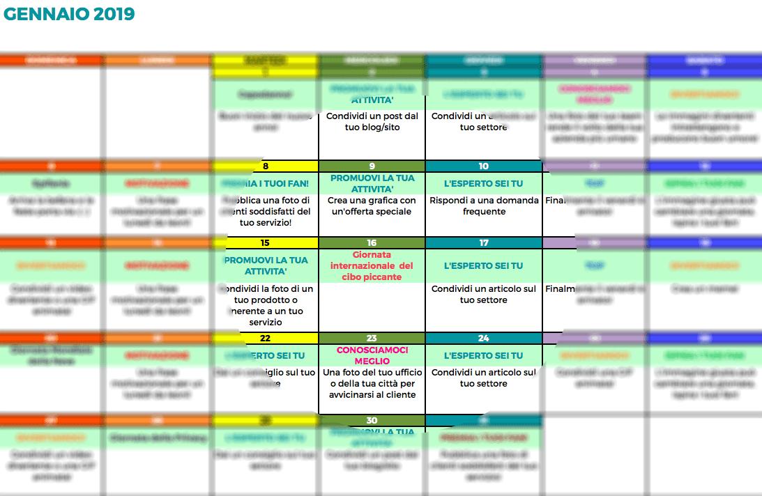 Controllo Calendario Excel 2020.Un Calendario Social Per Migliorare Le Tue Pubblicazioni
